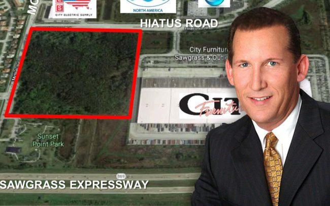 Land Next To City Furniture In Tamarac And Malcolm Butters