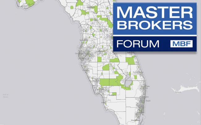 Florida Opportunity Zones Map Master Brokers Forum   South Florida by the numbers
