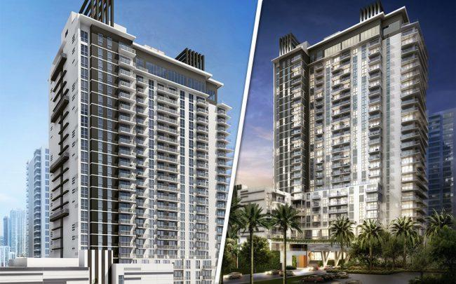 Renderings Of Modera Biscayne Bay