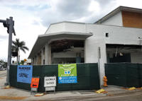 There are about two dozen empty storefronts along Biscayne Boulevard in the MiMo District