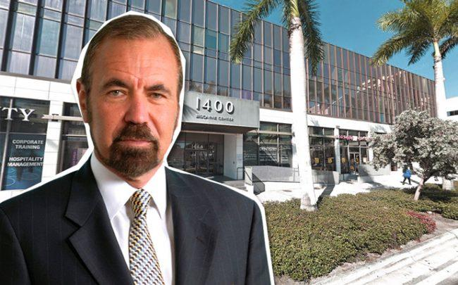 Jorge Perez and 1400 Biscayne Boulevard (Credit: Google Maps)