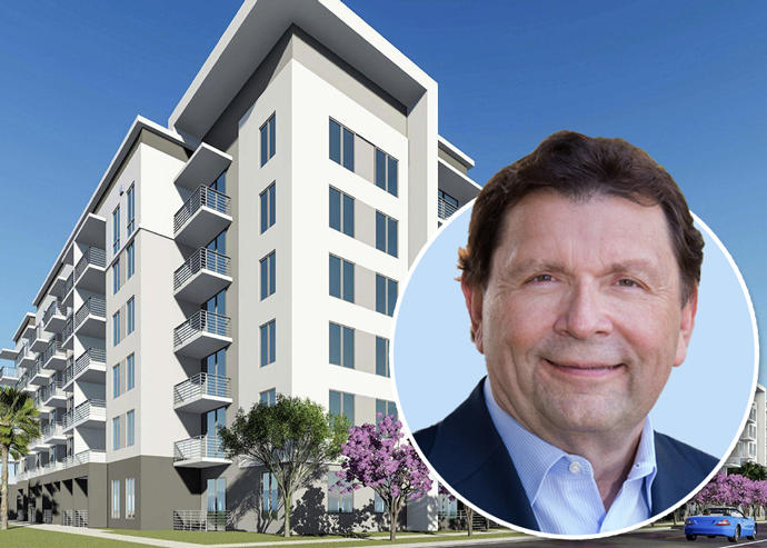 CalSTRS CEO Jack Ehnes and Fairfield Residential apartments