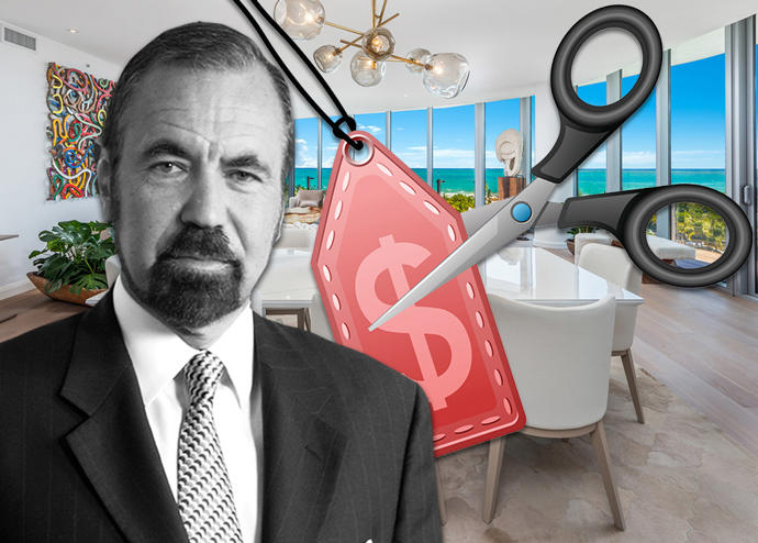 Jorge Pérez and his Miami Beach condo (Credit: Douglas Elliman)