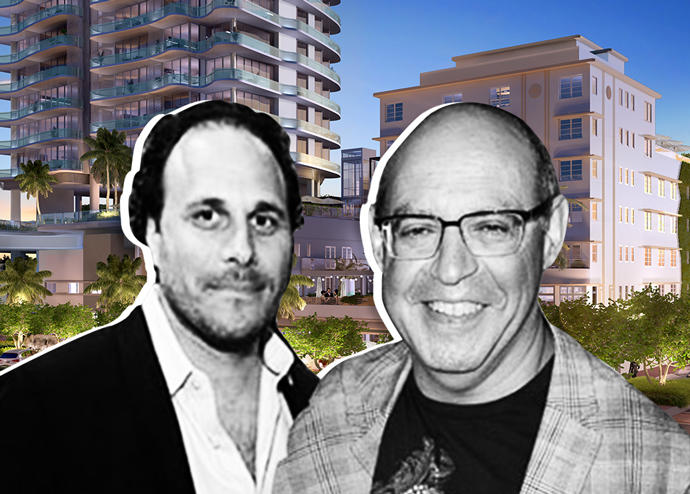 Ocean Terrace renderings, Alex Blavatnik and Sandor Scher