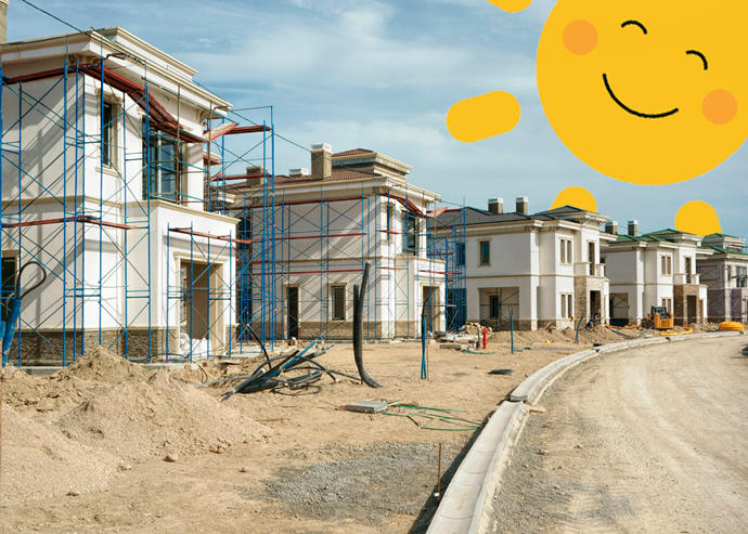 The United States housing market is up in April (Credit: iStock)
