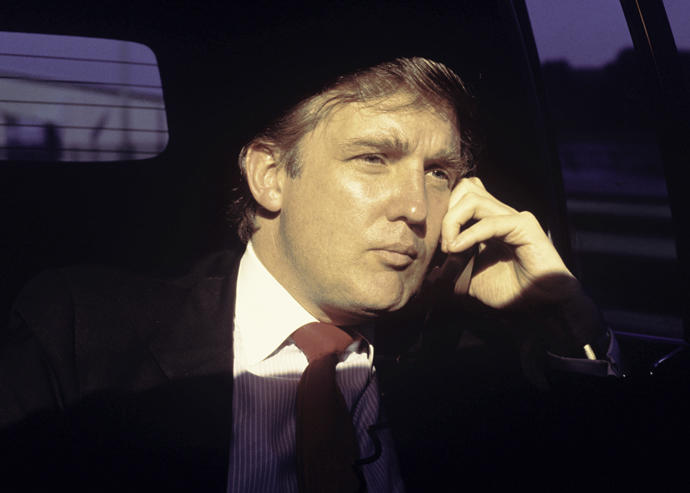 Donald Trump in 1987 (Credit: Getty Images)