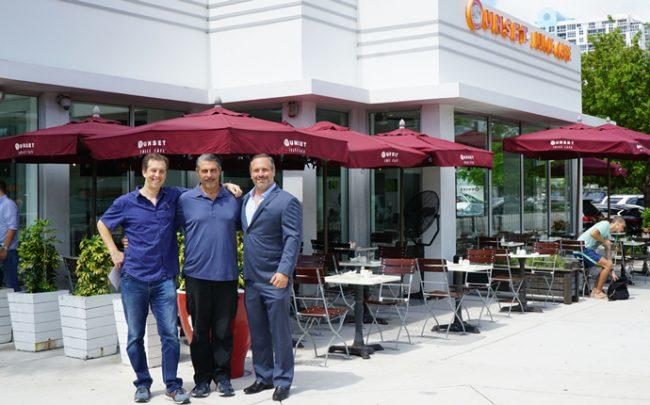 1101 and 1109 Northwest 22nd Street, Peter Saliamonas and Tonino Doino of Miami Avenue Holding Company with Phil Gutman