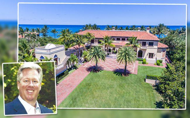 Jeffrey Jacobs of Jacobs Entertainment and his North Palm Beach mansion