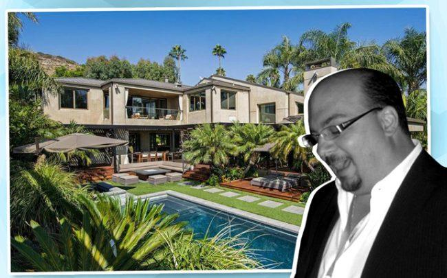 Anthony Zuiker and his home in Malibu