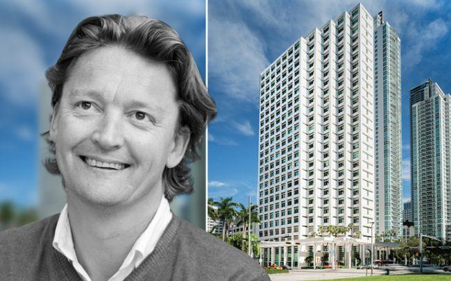 Spaces co-founder and CEO Martijn Roordink and 801 Brickell