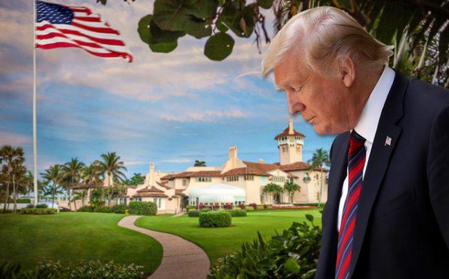 President Trump and Mar-a-Lago (Credit: Getty Images)