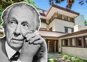Frank Lloyd Wright and Sherman Booth Cottage