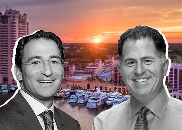 Jonathan Gray, Michael Dell and Boca Raton Resort (Credit: Booking)