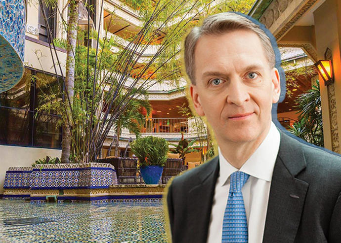 Mayfair Hotel & Spa and Brookfield CEO Bruce Flatt