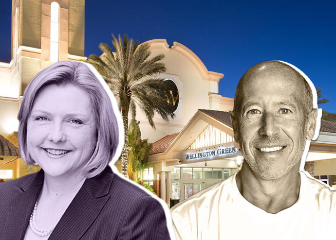 Palm Beach County property appraiser Dorothy Jacks, Barry Sternlicht and the Mall at Wellington Green