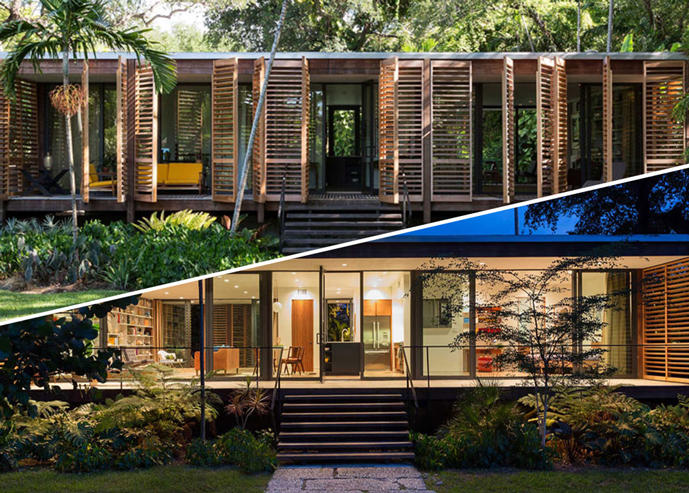 Minimalist Miami Brillhart House For Sale For 2m