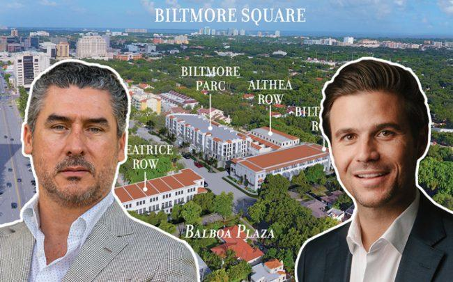 Alirio Torrealba and Daniel de la Vega with Biltmore Square