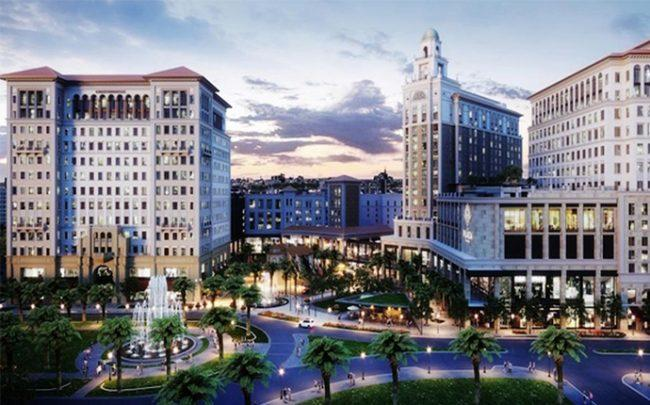 Rendering of the Plaza Coral Gables