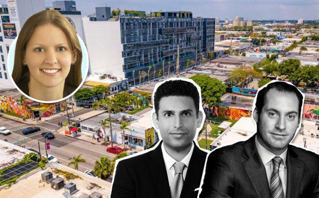 Leslie Sharpe, Glenn Orgin, Jon Paul Perez, and Wynwood (Credit: Metro 1)
