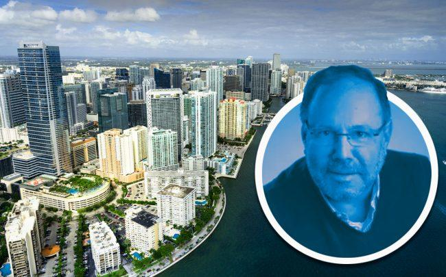 American Landmark CEO Joe Lubeck and the Miami skyline (Credit: iStock)