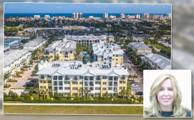 The Residences at Latitude Delray Beach and Marlena Demenus (Credit: LinkedIn)