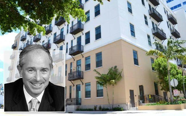 Blackstone CEO Stephen A. Schwarzman, the Exchange Lofts apartments at 115 Northeast Third Avenue in Fort Lauderdale