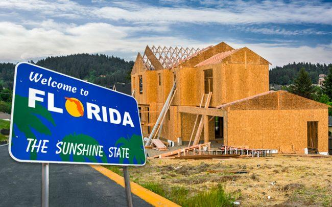 New homes in Florida (Credit: iStock)