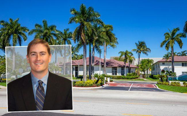 Grand Peaks Properties CEO Luke Simpson and the Gardens at Nova at 6857 College Court
