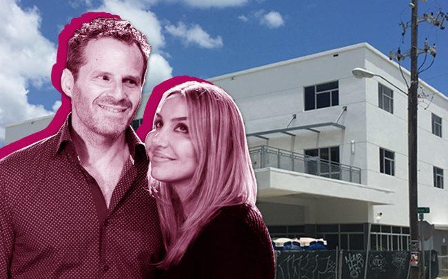 David and Leila Centner, and the former Aspira Arts DE/CO Charter School at 1911 Northeast Miami Court