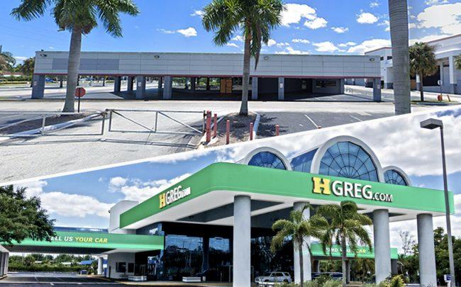 HGreg Auto and the former Toyota dealership (Credit: HGreg, Google Maps)