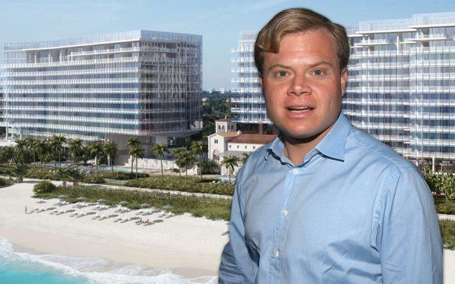 Harrison LeFrak and the Four Seasons Residences at the Surf Club (Credit: Getty Images)