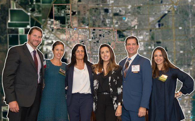 From left: Alejandro Arias, Keren Marti, Avra Jain, Carolina Herrera, Luis Gonzalez, and Melissa Rose (Credit: Google Maps)