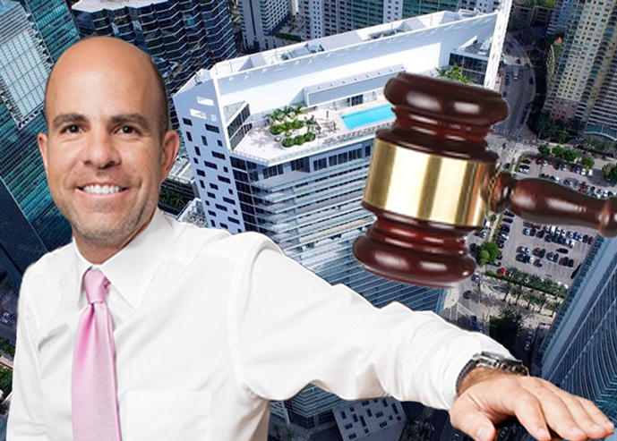 Harvey Hernandez and BrickellHouse (Credit: Miami Residence, iStock)