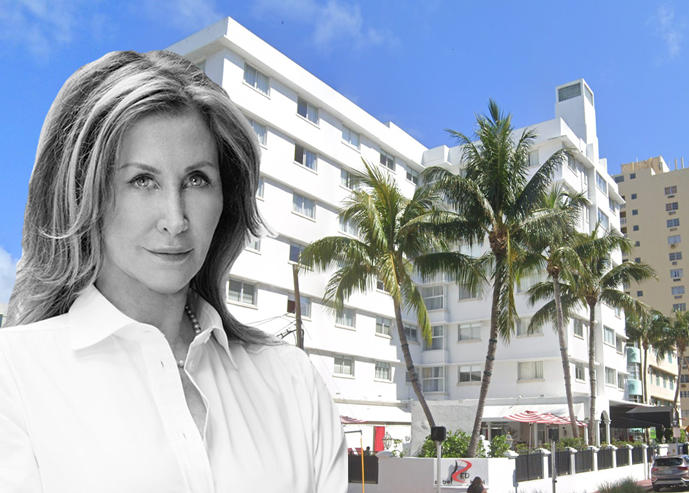 Susan Gale and the Read South Beach Hotel (Credit: Google Maps)