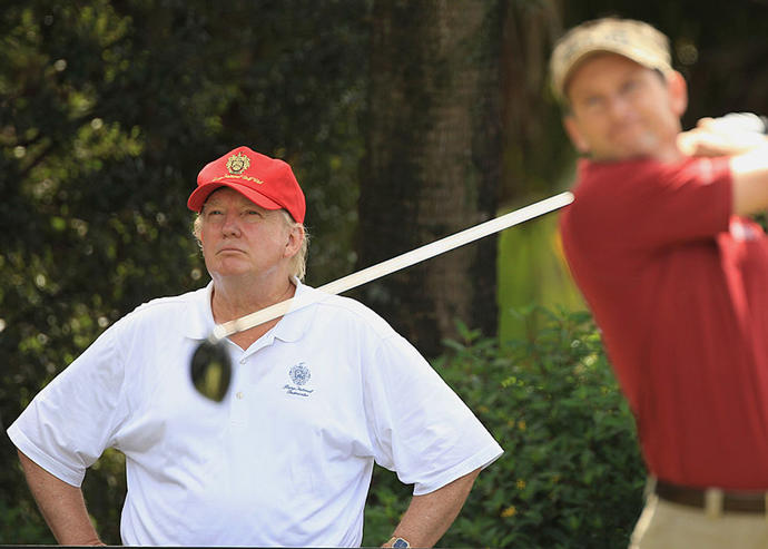 Donald Trump at Trump National Doral (Credit: Getty Images)