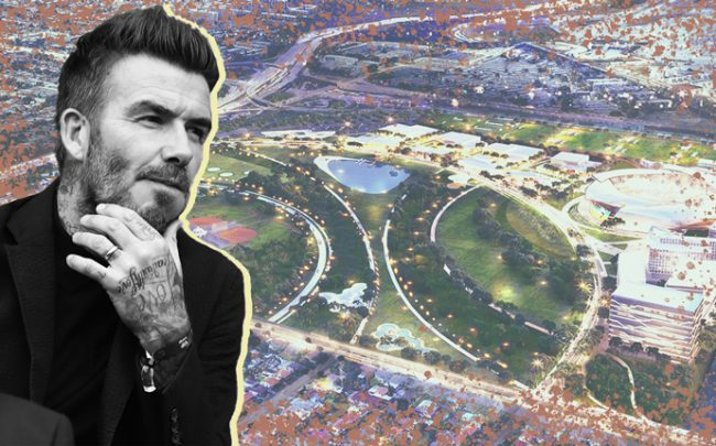 David Beckham and Miami Freedom Park (Credit: Getty Images)