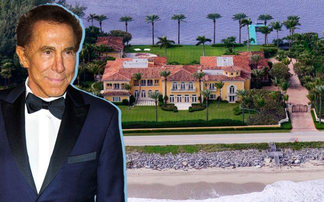 Steve Wynn and 1960 South Ocean Boulevard (Credit: Sotheby's and Getty Images)