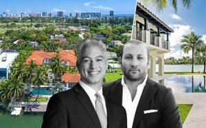 Nelson Gonzalez and Keith Menin with 2318 North Bay Road