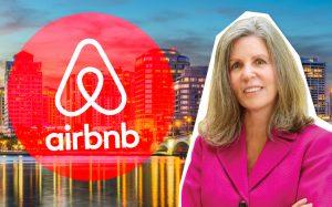 Anne Gannon and West Palm Beach (Credit: iStock and Airbnb)