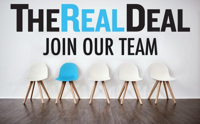 The Real Deal is hiring!