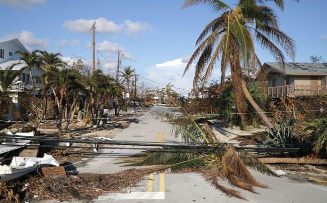 Florida Keys after Hurricane Irma (Credit: Getty Images)