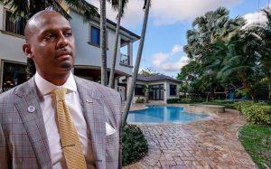 "Anfernee ""Penny"" Hardaway and 5940 Southwest 108th Street (Credit: Realtor, Getty Images)"