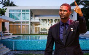 Chris-Bosh and 6396 North Bay Road (Credit: Getty Images, Realtor)