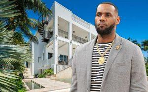 Lebron James and 3590-Crystal View Court (Credit: Redfin, Getty Images)