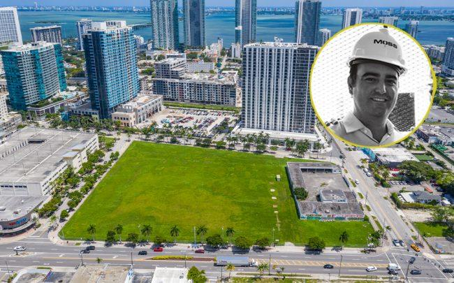 3055 North Miami Avenue and Alex Vadia (Credit: Midtown Opportunities, TAMZ)