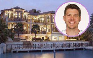 Mike Miller and 2308 Bay Drive (Credit: Realtor, NBA)