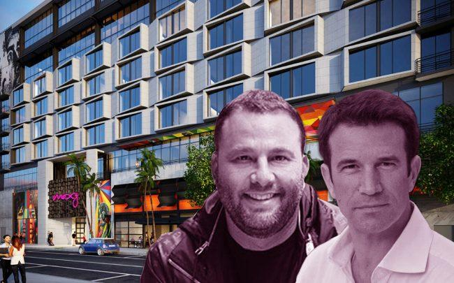 Rendering of the Moxy Hotel, Pierre Charalambides and David Grutman (Credit: Kobi Karp)