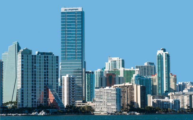 Brickell office skyline (Credit: iStock)