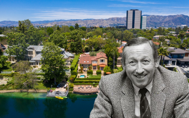 Roy E. Disney and the home in Toluca Lake