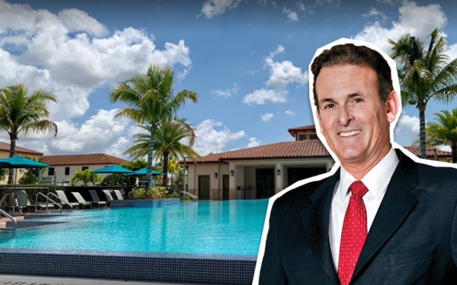 Lennar at Sorrento at Venetian Parc clubhouse, Lennar Vice Chairman Stuart Miller
